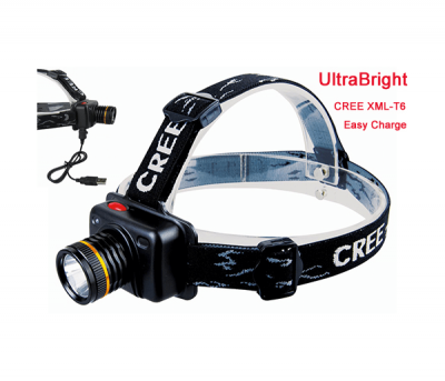 USB headlamps