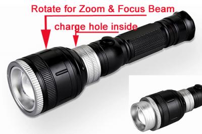 Adjustable Focus Flashlights