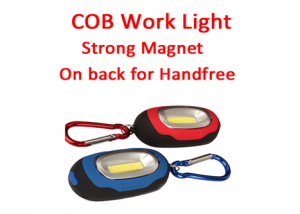 Hanging work lights