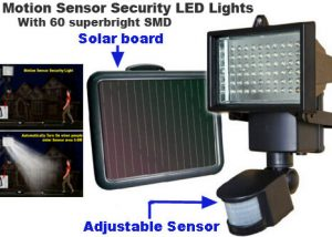 outdoor sensor lights